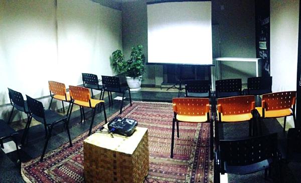 Workshop na nossa Sala da Lareira!